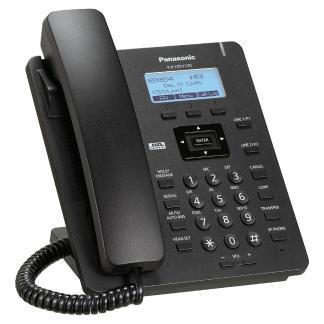 Panasonic KX-HDV130 Czarny - Rzut prawy